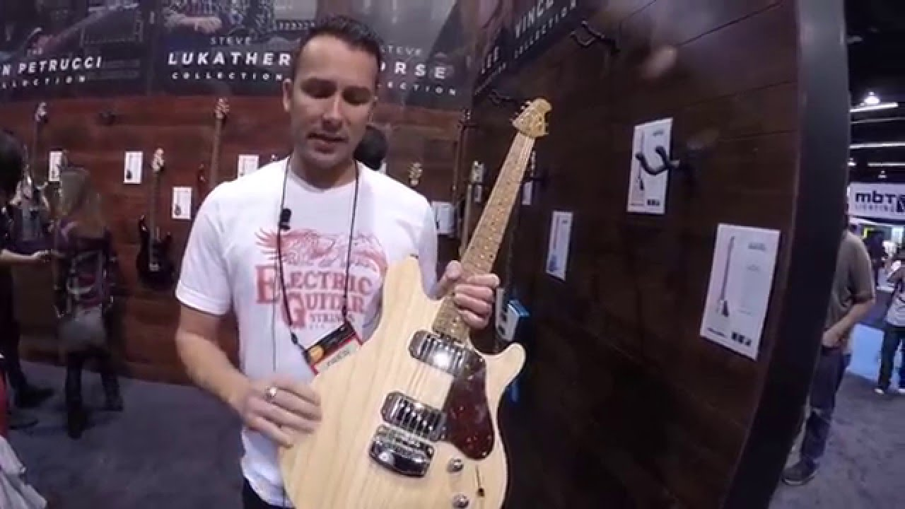 NAMM 2016 Ernie Ball MusicMan James Valentine Signature
