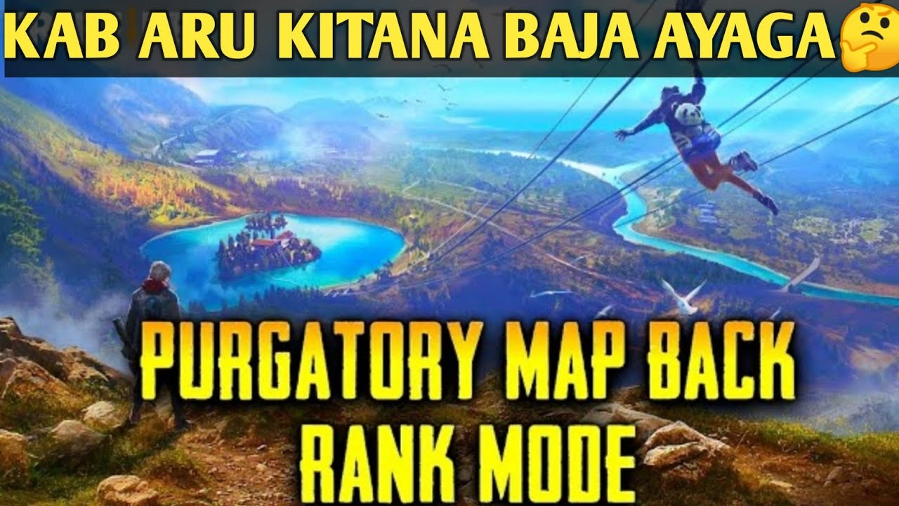 PURGATORY MAP🗺️ IS AGAIN COMING❤️ || 30K SPECIAL GIVEAWAY ANNOUNCEMENTS