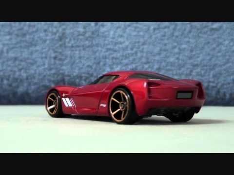 Awesome Hot Wheels Car 2009 Corvette Stingray Concept Youtube