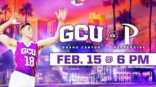 GCU Men's Volleyball vs. Pepperdine Feb 15, 2019 thumbnail