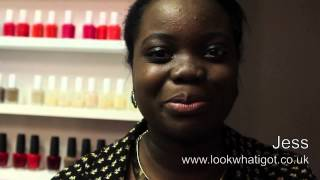 "Jess from lookwhativegot.com  London talk ""tans for black and brown skin"" with Abi O Thumbnail"