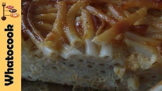 How To Make A Macaroni Pie Using The Layered Method
