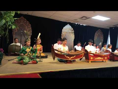 Pleng Pin Peat (Classical Khmer music ensemble) by classical music folks in Maryland, April 15, 2018