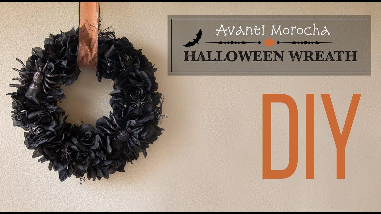Diy halloween wreath - Diy Halloween Wreath Corona De Halloween