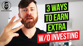How To Earn Extra Money Online Without Paying Anything