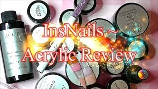 INSNAILS ~ NEW ACRYLIC COMPANY REVIEW | ABSOLUTE NAILS
