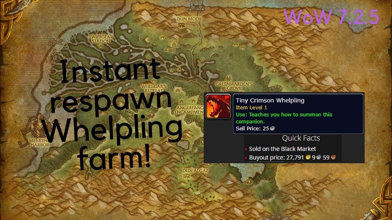 Wow Gold Farm Tiny Crimson Whelpling Instant Respawn
