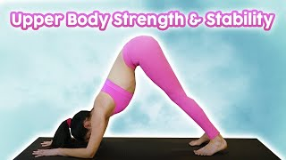 How to Reduce Pain in Down Dog | Power Yoga for Strong Arms, Shoulders & Wrists, Julia Marie 20 Mins