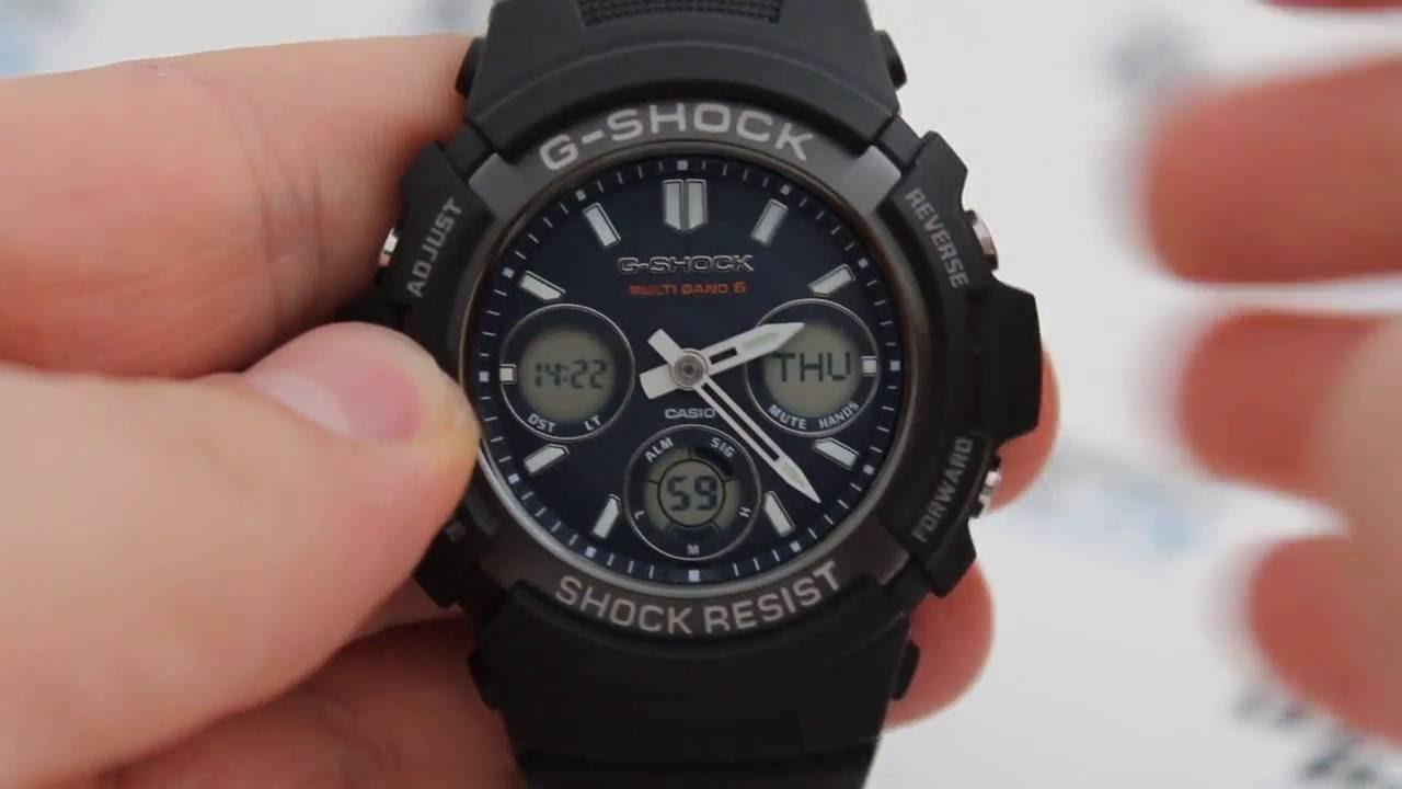 инструкция часы casio g