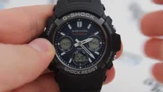 Часы Casio G-SHOCK AWG-M100SB-2A - инструкция, как настроить часы от PresidentWatches.Ru(Подробнее о часах Casio G-SHOCK AWG-M100SB-2A - http://presidentwatches.ru/watches/casio-g-shock-awg-m100sb-2a., 2016-09-02T09:17:33.000Z)
