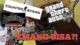 RAKIT PC KERE HORE 200RIBUAN | MAIN GAME 60 FPS