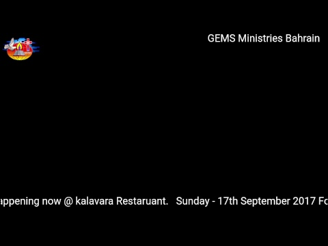 GEMS Ministries Bahrain | Medical Professionals Conference | 17.09.2017