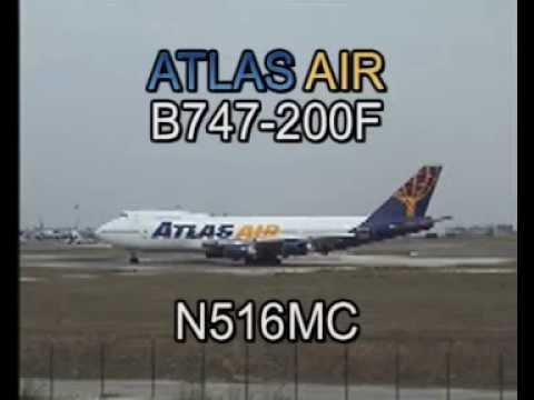 Atlas Air Boeing 747-243B(SF) N516MC (cn 22507/497)