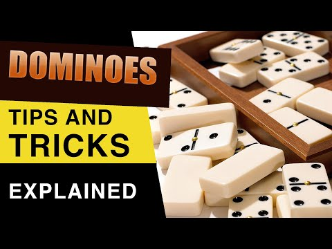 Dominoes Tips And Tricks : How To Play Dominoes Like A Pro : Dominoes Game Strategies