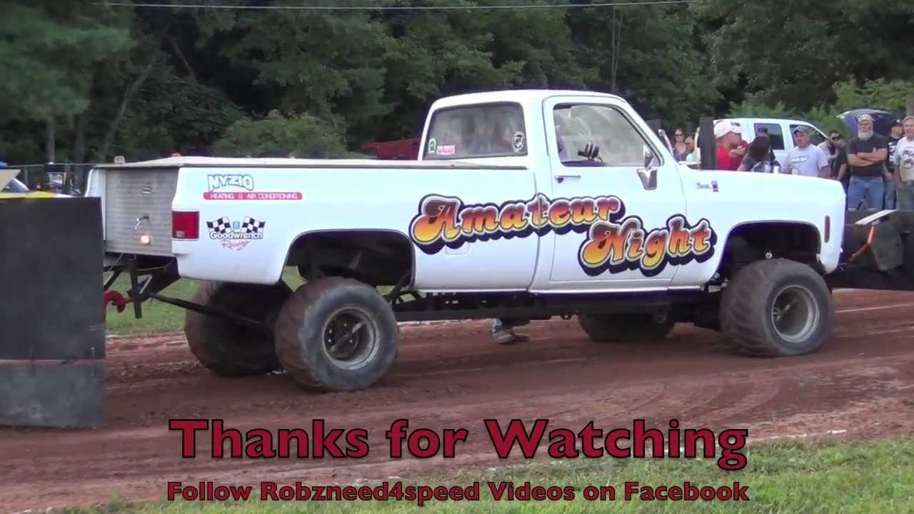 Super Stock Truck Pulling Westfield Fair 2013 Youtube
