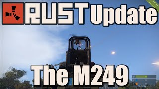 Rust Update - Devblog 86 - The M249 & Throw-able Boneclub!