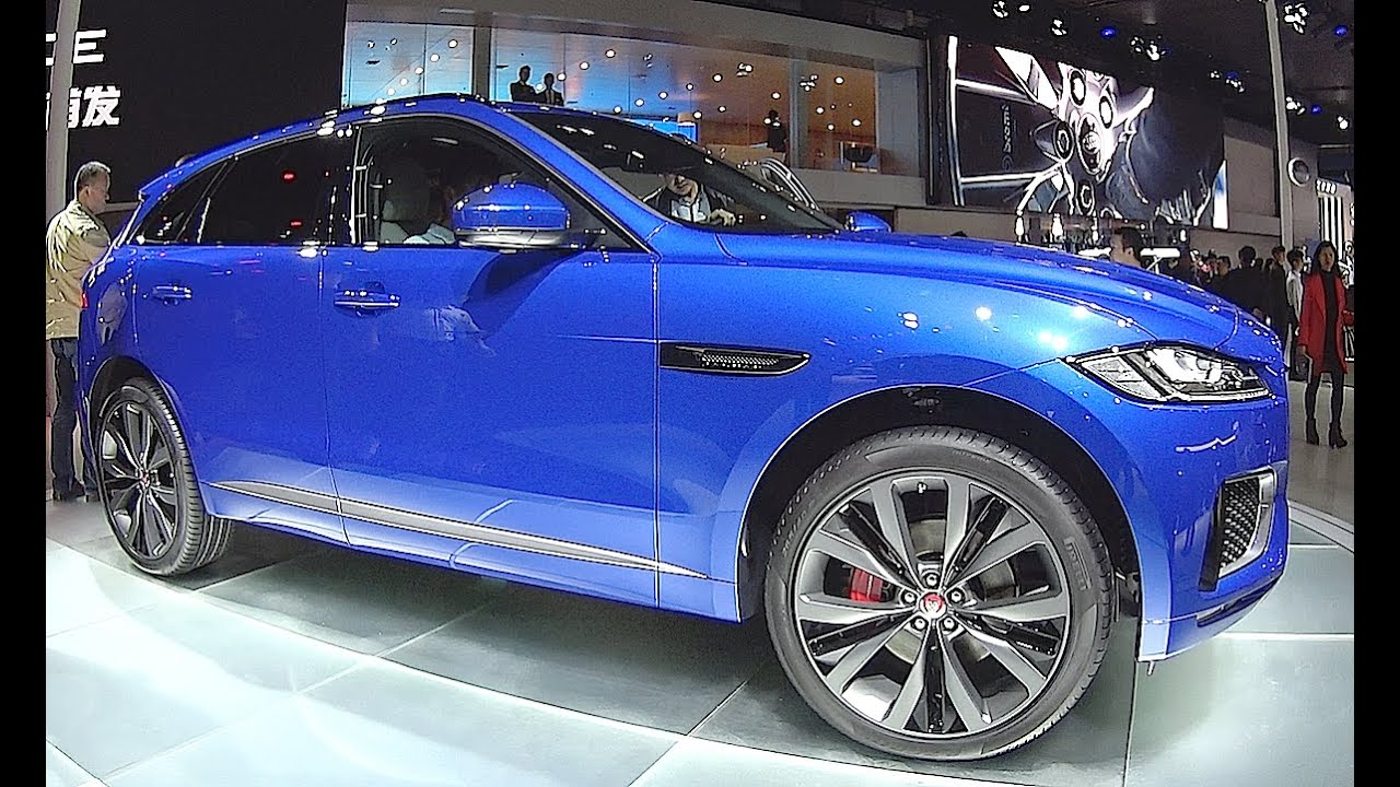 New SUV Jaguar F Pace 2016, 2017 Interior, Exterior   YouTube