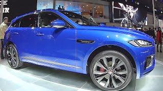 New SUV Jaguar F Pace  2016, 2017 interior, exterior