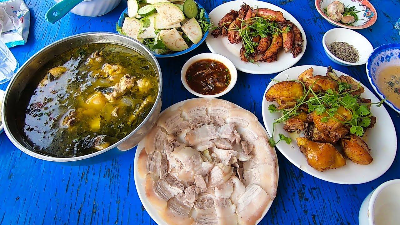 Hành trình lũ lụt Miền Trung   Tập 2 – 400km Ninh Thuận Bình Định ăn cơm xe tải 340k toàn món ngon