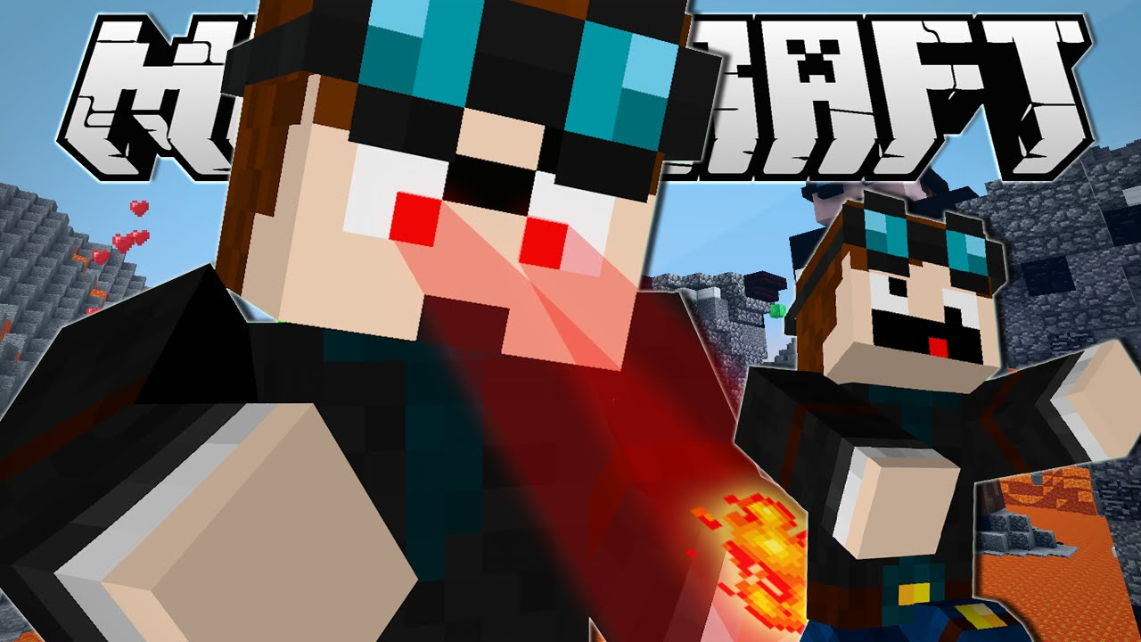 Minecraft  GIANT DANTDM BOSS BATTLE!!