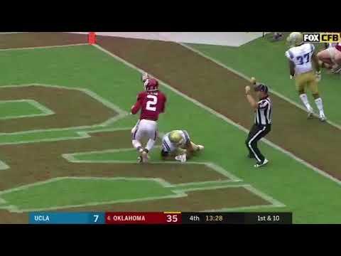 d976ee750 Ceedee lamb crazy catch vs ucla - YouTube