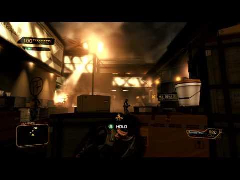 Deus Ex: Human Revolution: Walkthrough - Part 3 [Mission 1] - Stealth Kills (Gameplay & Commentary)