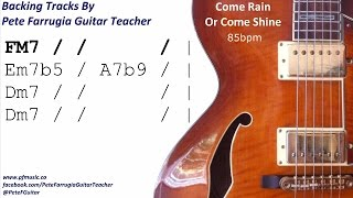 Come Rain Or Come Shine Backing Track