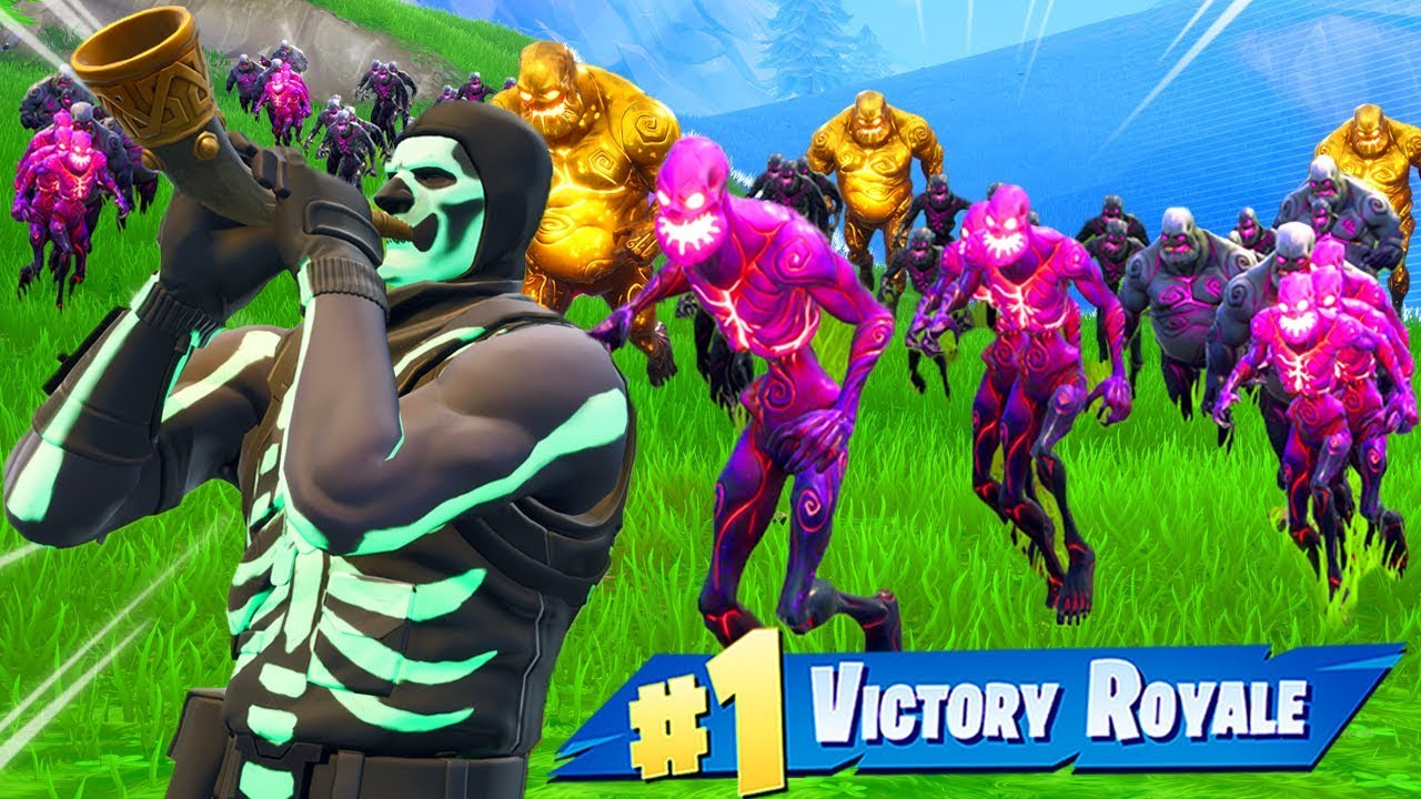 Making A Zombie Army In Fortnite