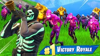 Making A *ZOMBIE ARMY* In Fortnite!
