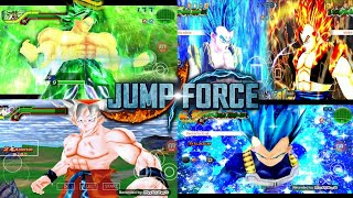 DOWNLOAD NEW JUMP FORCE MOD IN DBZ TTT MOD ISO + HD MENU With New Gogeta Blue And Broly