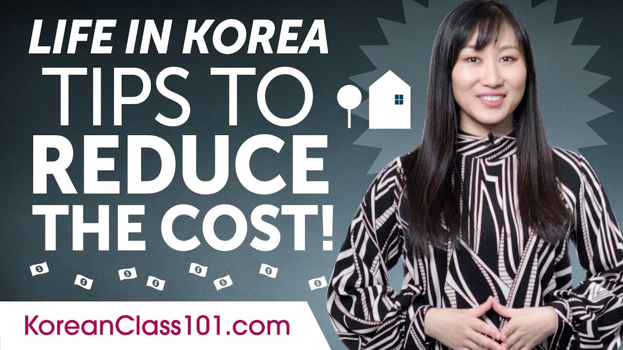 How Expensive is Life in Korea? Tips to Reduce Your Living Cost!