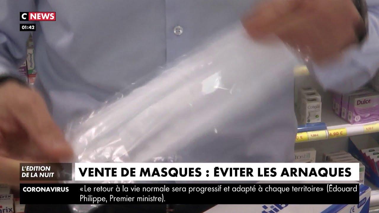Vente de masques : comment éviter les arnaques ?
