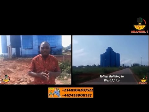 West Africa's Tallest Building Located in Biafra Land.