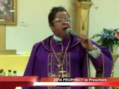 Dr  K  Taylor Ash PhD.  PROPHECY to Preachers 2014