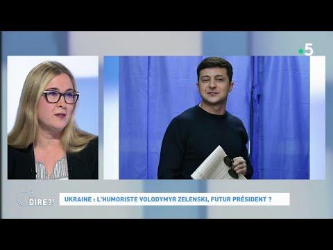 Ukraine : l'humoriste Volodymyr Zelenski, futur président ? #cadire 01.04.2019