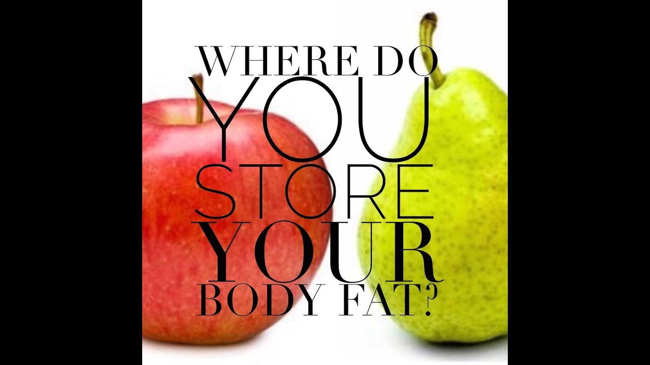 What your fat storage and body shape says about your health