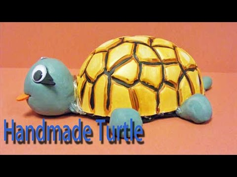 Hand Made Turtle | Best From Waste Material | Hand Creativity | Easy Step to Follow | Full HD