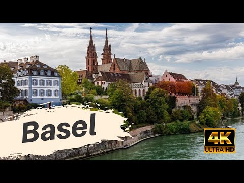 🇨🇭 [4K] Walking Basel Switzerland in Summer 2020 | no talking | no cuts | ASMR | walking tour |
