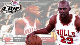 NBA Live 2000 HD in 2018! Michael Jordan 1-On-1 Mode on Superstar Difficulty ⭐️⭐️⭐️⭐️⭐️ + Gameplay!