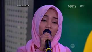 Fatin Shidqia Percaya Live at Sarah Sechan