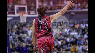 Marcio Lassiter has regained touch - and that