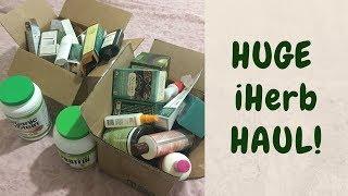 📦  Неприлично Oгромный Заказ с iHerb ✦ Распаковка ✦ Катя Румянка