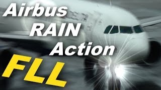 Airbus Action in the Rain at Fort Lauderdale-Hollywood International Airport (2013)