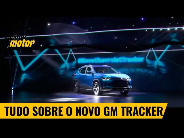 Confira todos os detalhes do novo GM Tracker