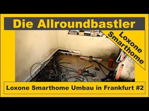 Loxone Smarthome in Frankfurt #2 - UV Garage Neubau