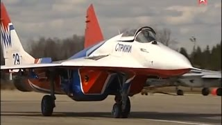 Russian Air Force rehearsals for Victory Day parade on May 9, 2015. (Raw footage)