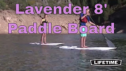 Lifetime Standing Paddleboard 90784 Lavender 8-Foot Hooligan Board