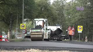 deel 3, Hoofdstraat heijen zuid, eerste laag asfalt aanbrengen