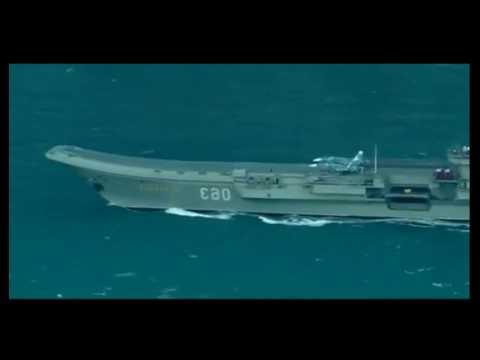 Russian fleet - Russian warships in english channel