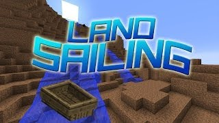 Minecraft - Land Sailing [NL] Eerste Land Sail Map!